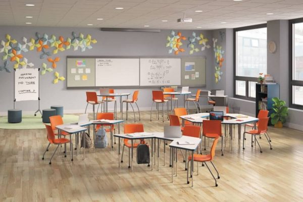 modern furniture for classroom spaces
